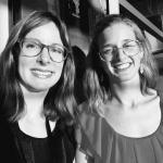 Anneleen Adriaenssens en Judit Borbely