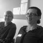 Erna Foubert en Emmy Van der Vloet