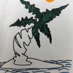 tekening van Tinne Kers