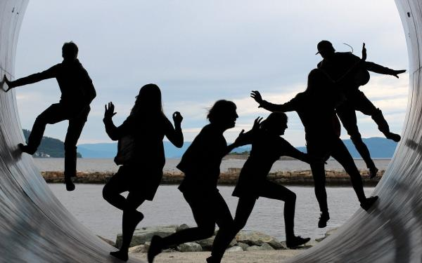 samen dansen en spelen