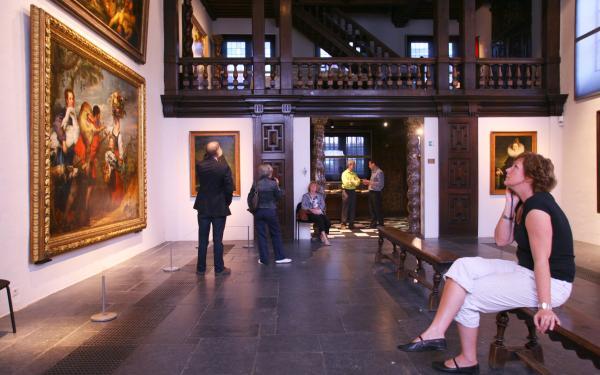 Rubenshouse Interior Antwerp©Tomas Kubes