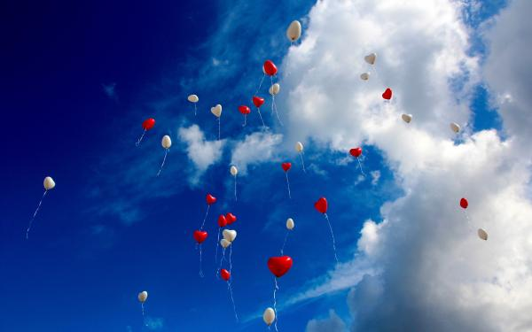 loslaten, ballonnen