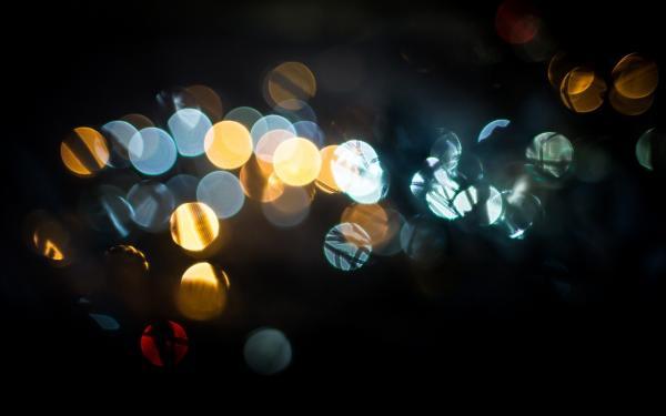 lichtjes in de nacht