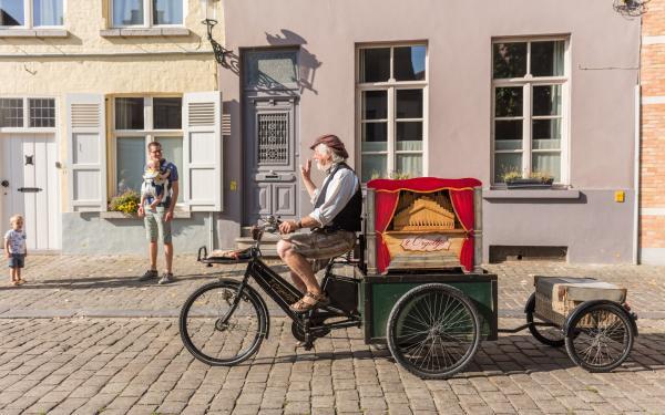 Brugge rijdend orgel