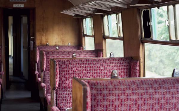 trein vintage
