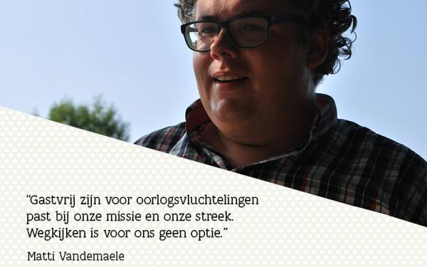 Quote Matti Vandemaele