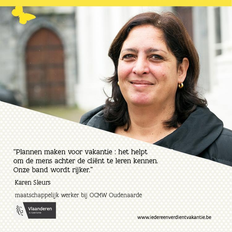 Quote Karen Sleurs