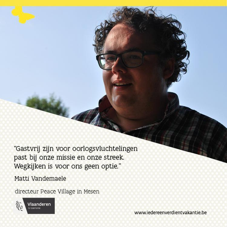 Quote Matti Vandemaele