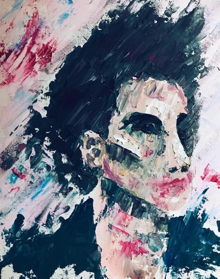 Schilderij van Emma